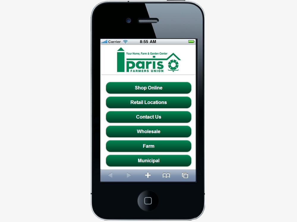 Paris Farmers Union Mobile
